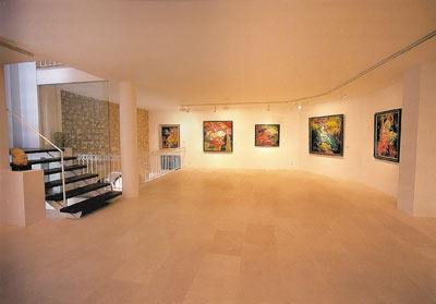 Sala de exposiciones del museo