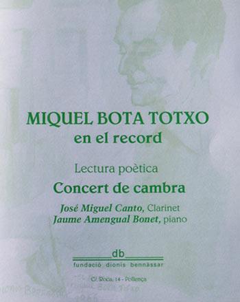Miquel Bota Totxo
