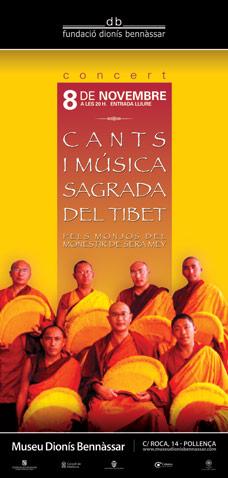 Cantos y música sagrada del Tibet