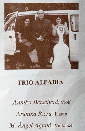 Trio Alfabia